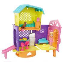 Playset e Mini Boneca - 25 Cm - Polly Pocket - Club House da Polly - Espaços Secretos - Mattel -