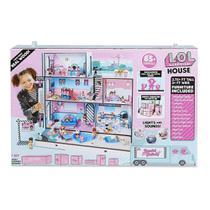 Playset e Mini Boneca - LOL - Surprise House - 85 Surpresas - Candide -