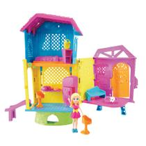 Playset e Mini Boneca Polly Pocket - Club House da Polly - Mattel