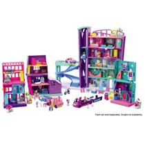 Playset e Mini Boneca - Polly Pocket - Pollyville - Mega Shopping - Mattel -