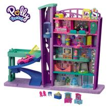 Playset e Mini Boneca - Polly Pocket - Pollyville - Mega Shopping - Mattel -