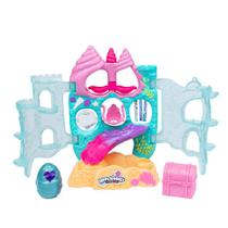Playset e Mini Figura - Hatchimals Colleggtibles - Série 5 - Castelo Coral - Sunny -