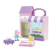 Playset e Mini Figura - Peppa Pig - Padaria Delícia - DTC -