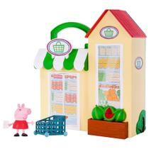 Playset e Mini Figura - Peppa Pig - Pequena Mercearia - DTC