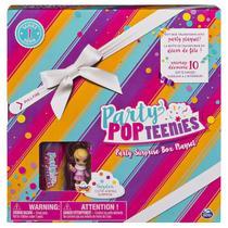 Playset e Mini Figura Sortida - Poppers - Party Pop Teenies - Festa Surpresa - SERIE 1 - Sunny