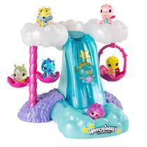 Playset e Mini Figura Surpresa - Cascata Iluminada - Hatchimals Colleggtibles- Sunny -