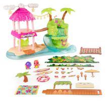 Playset e Mini Figura Surpresa - Hatchimals Colleggtibles - Ilha Tropical - Sunny -