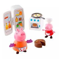 Playset e Mini Figuras - Peppa Pig - Cozinha - Dtc -