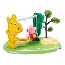 Playset e Mini Figuras - Peppa Pig - Peppa Hora de Brincar - Balanço - DTC - Dtc, Peppa Pig