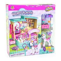 Playset e Mini Figuras - Shopkins - Happy Places - Happy Estábulo - DTC -
