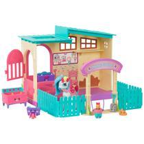 Playset Figuras Shopkins DTC Places Happy Estábulo -