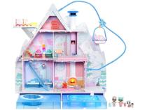 Playset LOL Surprise Chalet Winter Disco Candide - 95 Peças -