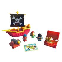 33098ea050 Playset Navio Pirata Zombie Fun Zomlings -