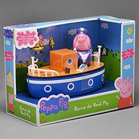 Playset Peppa Pig Barco Do Vovô Dtc -