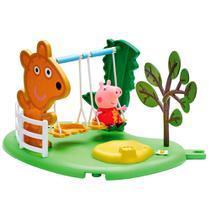 Playset Peppa Pig - Peppa Hora de Brincar - Balanço - 4205 - DTC -