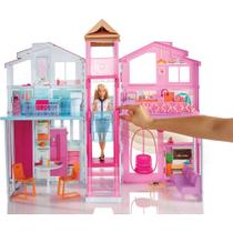 Playset Real Super Casa 3 Andares - Barbie - Mattel
