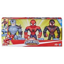 Playskool Heroes Pack Herois Aracnideos Mega Mighties E4842 - Hasbro