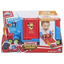 Playskool Transformers Optimus Prime Carreta Lançador E3285 - Hasbro -