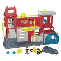 Playskool transformers rb playset quartel bots -