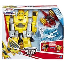 Playskool Transformers Rescue Bots Bumblebee Cavaleiro Vigilante C1122 HASBRO -