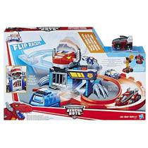 Playskool Transformers Rescue Bots Pista Corrida e Captura Flip Racer - Hasbro -