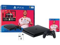 Playstation 4 1TB 1 Controle Sony  - com 1 Jogo