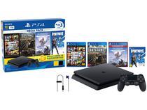 Playstation 4 1TB 1 Controle Sony  - com 3 Jogos