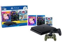 PlayStation 4 Bundle V11 1TB 2 Controles Sony - com 5 Jogos PS Plus 3 meses