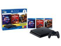 PlayStation 4 Mega Pack V17 1TB 1 Controle Sony - com 3 Jogos