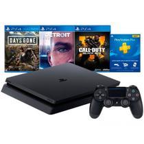 Playstation 4 Slim 1 TB Hits Bundle V5.1 mais 3 Jogos - Sony