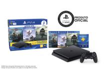 Playstation 4 Slim 1TB Bundle (God of War / Shadow of the Colossus / Horizon Zero Down) - Sony