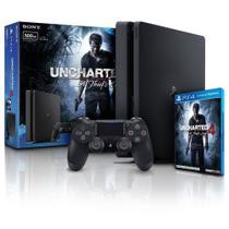 Playstation 4 Slim 500gb com Jogo Uncharted 4 - Sony1