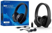 PlayStation Gold Ouro Wireless Headset 7.1 Surround - PS4 - Sony