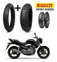 Pneu 110/70-17 E Pneu 140/70-17 Suzuki Inazuma 250 Pirelli -