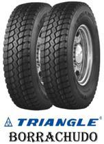 Pneu  215/75R17.5 R 16PR TR689A TRIAGLE BORRACHUDO Kit Com 2 Unidades 10638 - Triangle