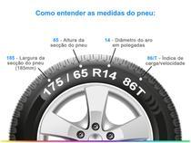 """Pneu Aro 14"""" Goodyear - 185/65R14 Assurance Touring 86T SL"""
