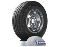 "Pneu Aro 15"" Michelin 205/70R15C - Agilis R 104R para Van e Utilitários -"