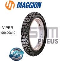 Pneu Bros Dianterio 90/90/19 Maggion Viper Envio Imediato Motos Aro 19 Crosser Bros XL -