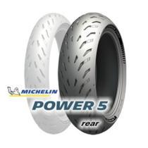 Pneu de moto michelin  power 5 r 190/50 zr17 tl m/c 73w -