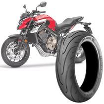Pneu Moto Cb650F Technic Aro 17 180/55-17 73v Traseiro Stroker -