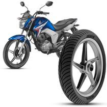 Pneu Moto Honda Cg Titan Rinaldi Aro 18 80/100-18 47p Dianteiro HB37 -