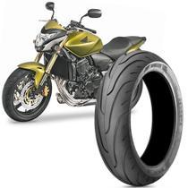 Pneu Moto Hornet Technic Aro 17 180/55-17 73v Traseiro Stroker -