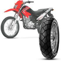 Pneu Moto Nxr 125 Bros Metzeler Aro 17 110/90-17 60p Traseiro Tourance -