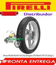 Pneu Pirelli 90/90-18 City Dragon (Tl) Reinf 57P (T) Orig. C - Pirelli / Metzeler
