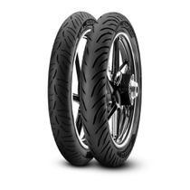 Pneu Pirelli Biz Pop 100 Super City 80/100-14 E 60/100-17 Tt -