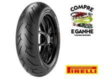 Pneu traseiro honda cbx 250 twister(mais largo) 140-70-17 diablo rosso 2 66h tl(sem câmara) - Pirelli