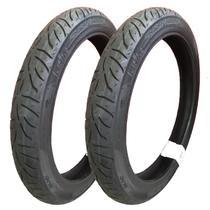 Pneus de Moto Pirelli 2.50-18 + 60/100-17 p/ Titan 150 Sport -