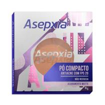 Pó Compacto Maquiagem Asepxia - Bege Médio - Genomma