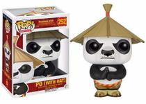 Po with Hat 252 ( com chapéu ) - Kung Fu Panda - Funko Pop! Movies