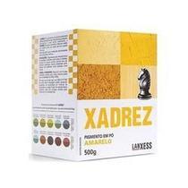 Po Xadrez Amarelo 500gr - RCDELETRICA